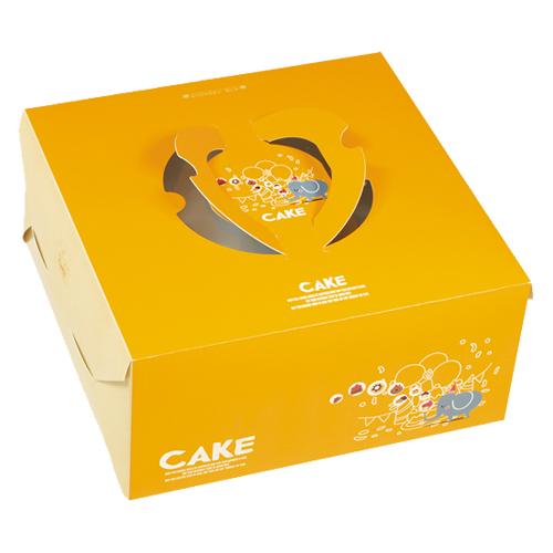 布丁蛋糕盒/6吋/樂園