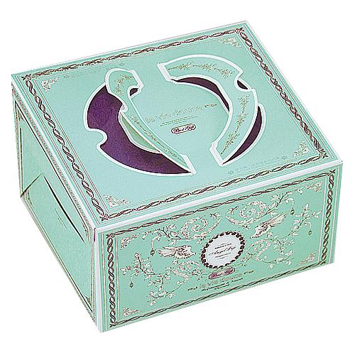 布丁蛋糕盒/8吋/卡莎兒(綠)