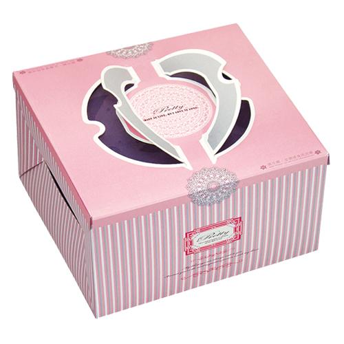 布丁蛋糕盒/8吋/可麗兒
