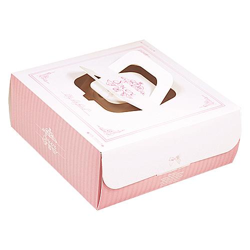 手提派盒 - 8吋 - 喬安娜(粉)