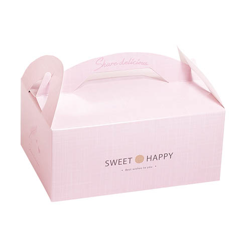 手提餐盒/4吋/小香風(甜蜜粉)
