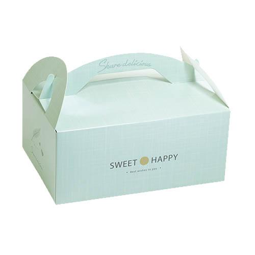 手提餐盒/4吋/小香風(薄荷綠)