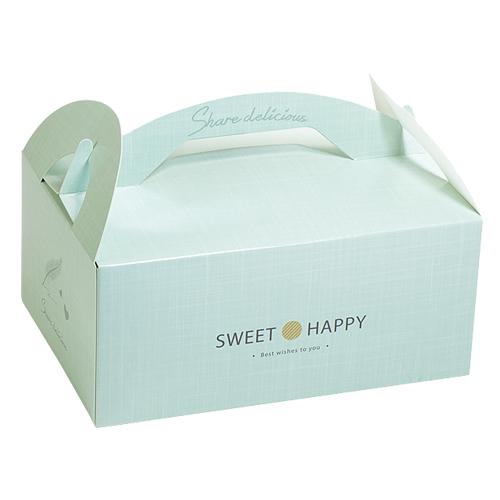 手提餐盒/6吋/小香風(薄荷綠)