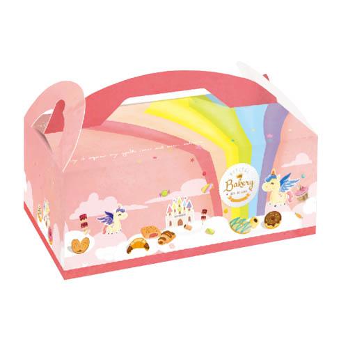 手提餐盒/6吋/彩虹小馬