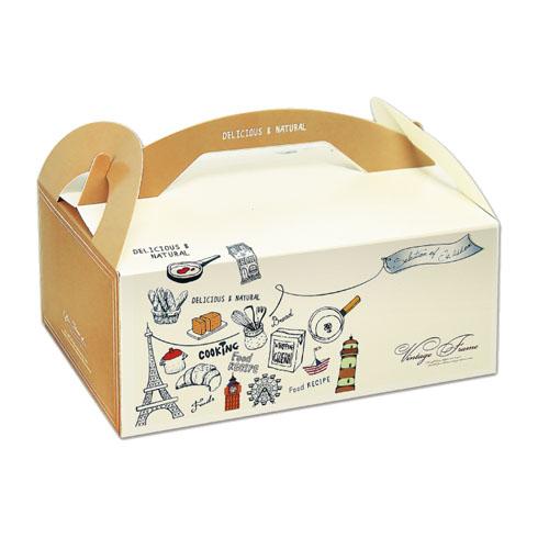 手提餐盒/9吋/艾菲爾