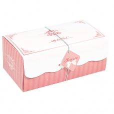 日式長條蛋糕盒/一片式/日式瑞士捲喬安娜(粉)(400個)
