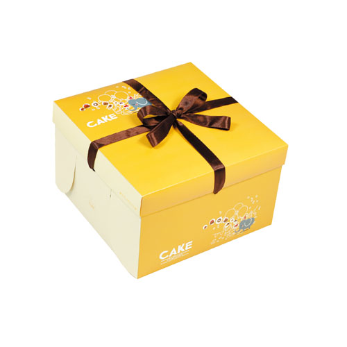 精緻蛋糕盒/8吋/樂園