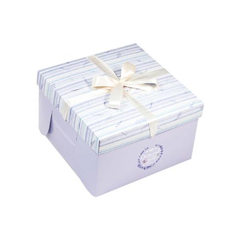 精緻蛋糕盒/8吋/紫薰衣