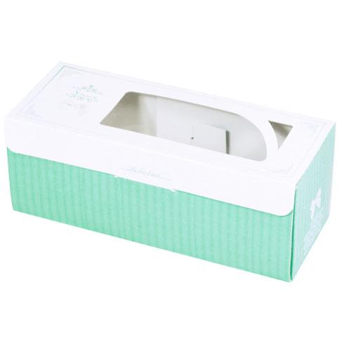開窗西點盒/205x81/喬安娜(綠)