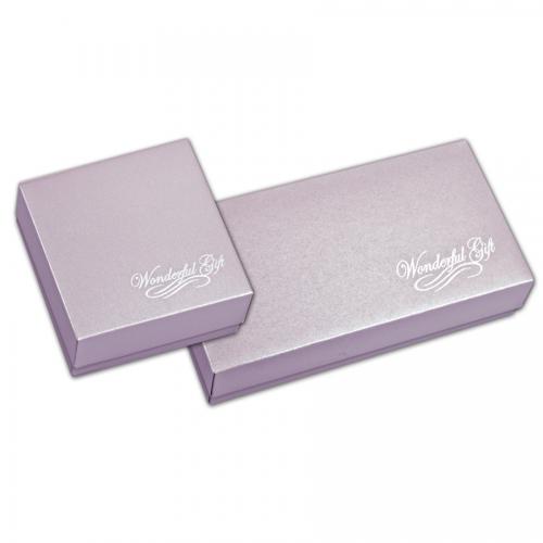 法式西點禮盒/長形盒/香檳紫