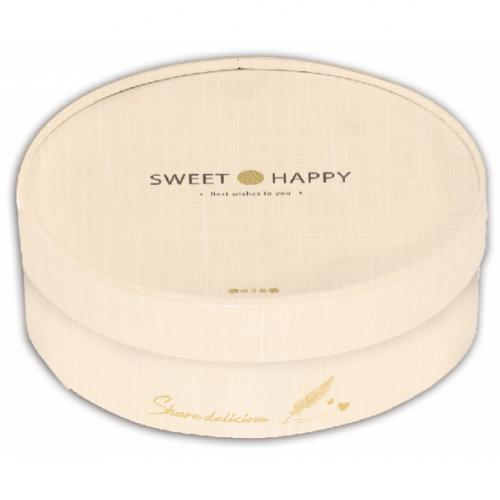5吋乳酪盒/5吋/小香風-香檳黃