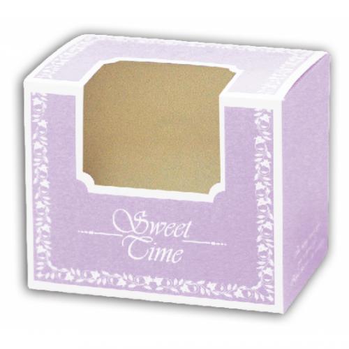 甜蜜餅乾盒系列/粉紫色