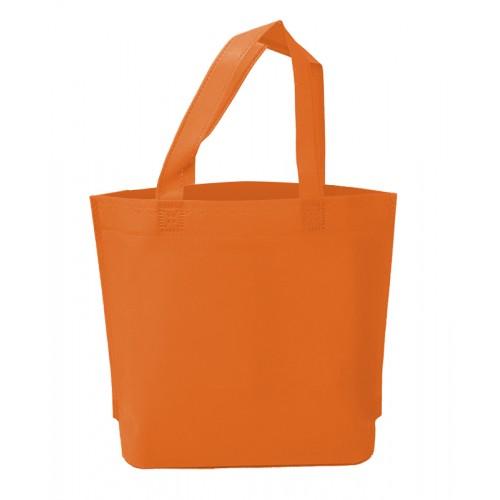 不織布環保袋(橘色)