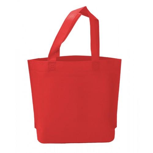 不織布環保手提袋(紅色)