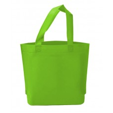 不織布環保袋/不織布手提袋/雙面印刷(綠色)(500個)