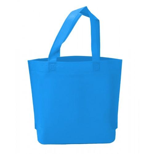 不織布環保袋(水藍色)