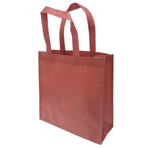 包邊不織布手提袋雙面印刷(紅色)