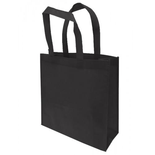 包邊不織布手提袋雙面印刷(黑色)