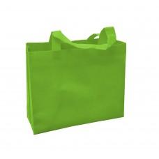 不織布環保袋/橫式不織布手提袋/雙面印刷(綠色)(500個)