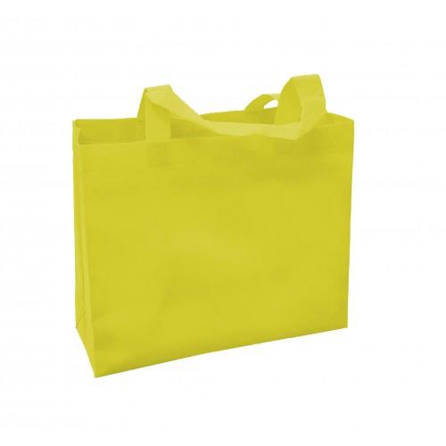 橫式不織布環保袋(黃色)