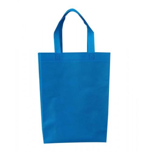 不織布環保手提袋(水藍色)