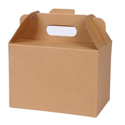 空白瓦楞紙盒_手提盒
