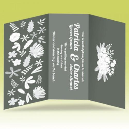 A4包摺卡片
