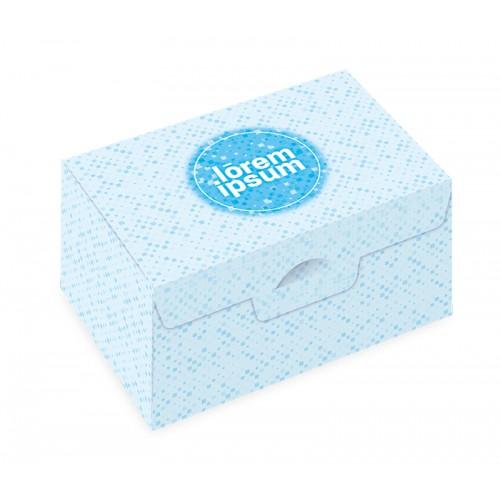 二入切片蛋糕盒