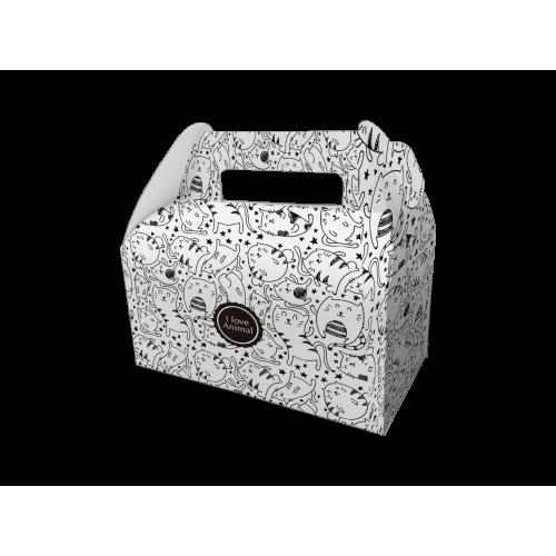 手提餐盒/6吋/手提餐盒/LJ - plo007