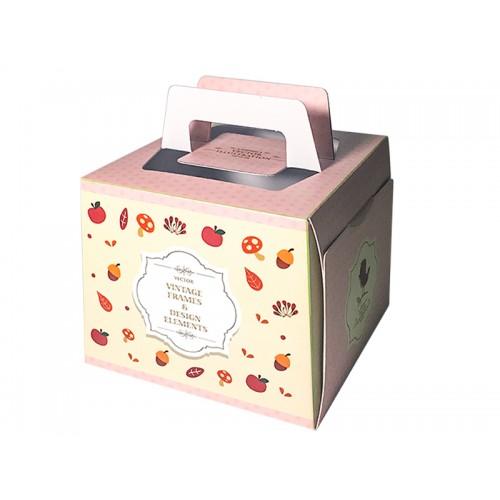 4吋小蛋糕盒 - 6吋盒(602)