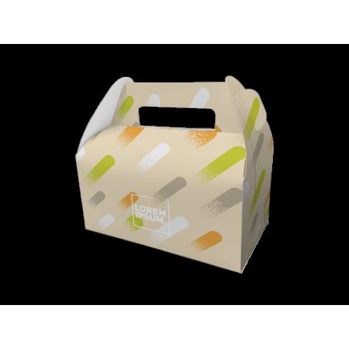 手提餐盒/9吋/手提餐盒/LJ - plo009