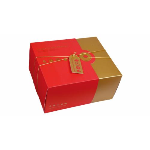 6入雙層抽屜式禮盒-紅玥