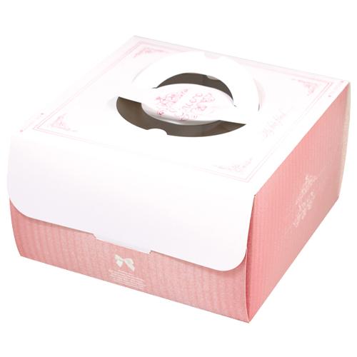 手提蛋糕盒/8吋/喬安娜(粉)