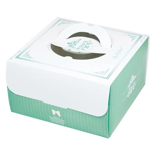 手提蛋糕盒/8吋/喬安娜(綠)