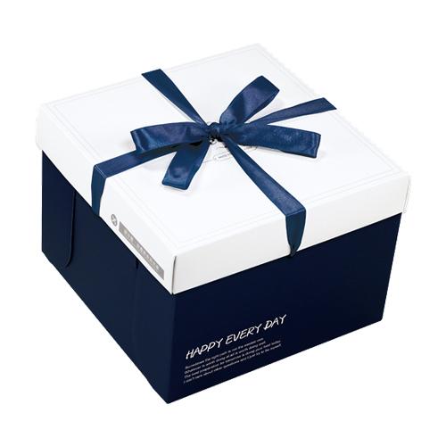 精緻蛋糕盒/8吋/薇娜絲(藍)