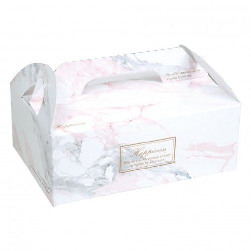 手提餐盒 - 4吋 - 伊蓮娜(粉紅)