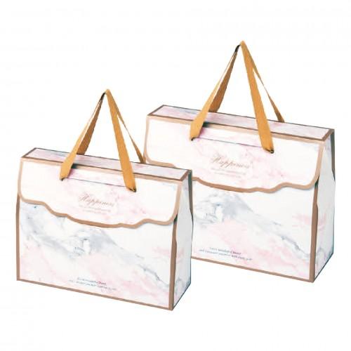 精緻提盒 - 大 - 伊蓮娜(粉紅)