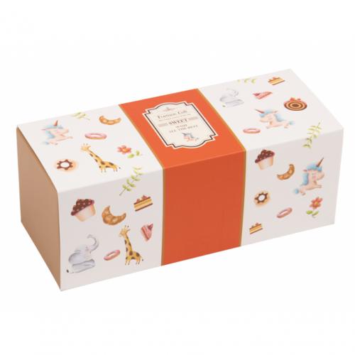 抽屜式瑞士捲/生乳捲 - 瑞士捲 - 貝比(橘)